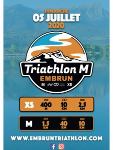 Affiche Triathlon M